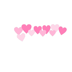 heart pinkhearts madebyme overlay freetoedit