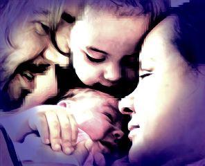 newborn familyportrait artification