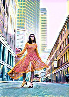 highlightmagiceffect freetoeditphoto girl dress freetoedit