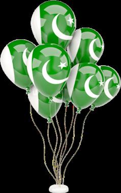pakistaniflag flagdayremix balloons pakistanindependenceday pakistan freetoedit