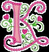 k alphabet pinky freetoedit
