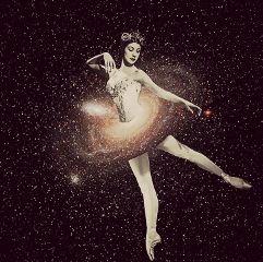 freetoedit ballet balletdancer woman space