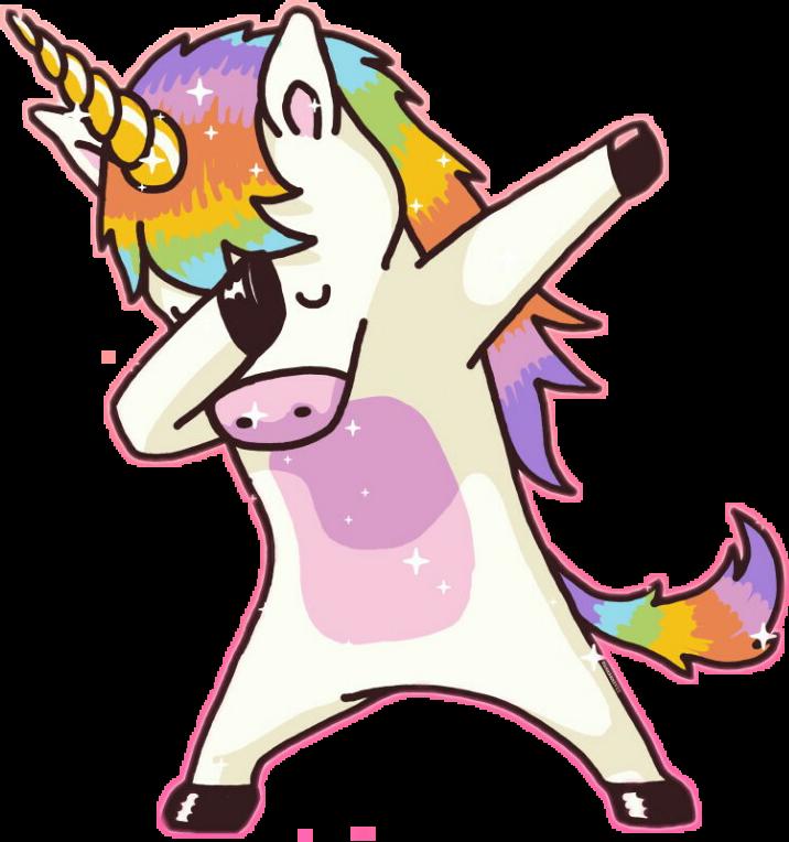 Unicorn Dub Sticker By Nika