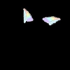 rainbow pastel cat catears freetoedit