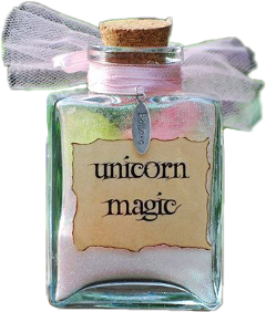 unicorn magic jar freetoedit