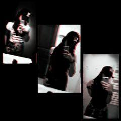 freetoedit blackandwhite collage lit radioactive