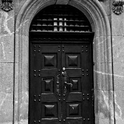 blackandwhite architecture gate dpcdoors door