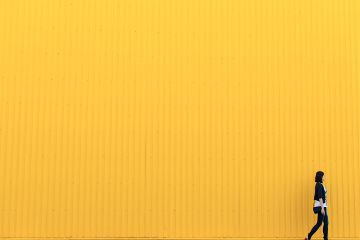 freetoedit yellow minimal minimalistic girl