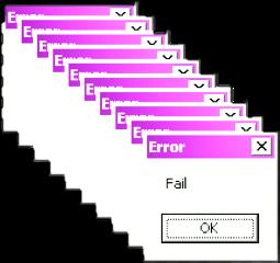 ftestickers windows microsoft messages error