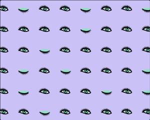 ftestickers background pattern popart eyes