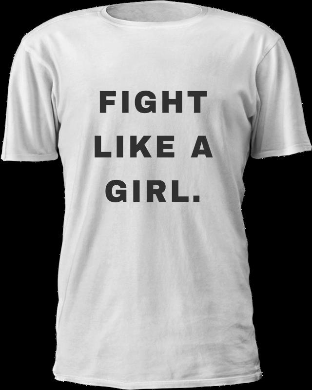 #tshirt #fight #like a #girl#freetoedit