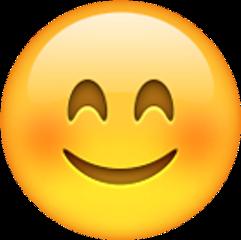 emotions shy smile emoji love