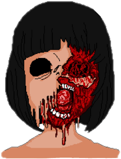 horror kawaii blood freetoedit