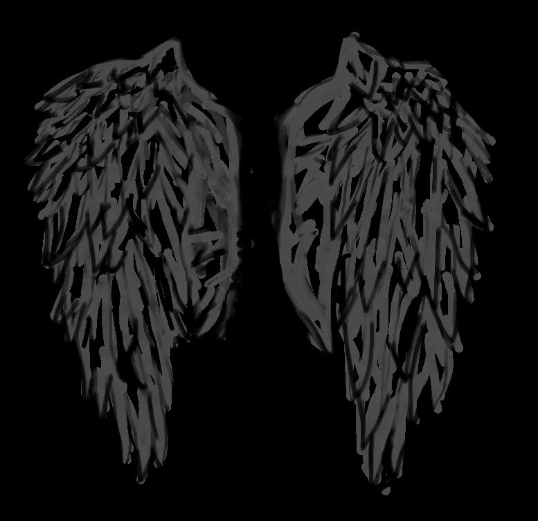 Angel Fallen Angel Inspired By Sticker By L A