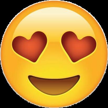 carita enamorada emoji emoticon love