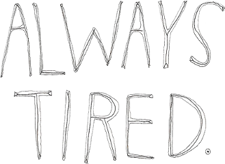 alwaystired tired emotions stickers ftestickers