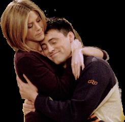hugs rachelgreen joeytribianj freetoedit