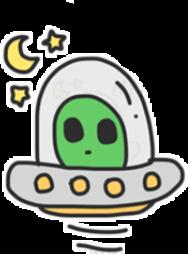 aliens👽 alien ufostickers ufo alines