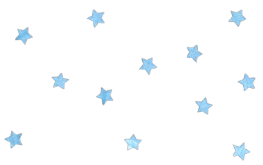 ftestickers nature sky stars blue