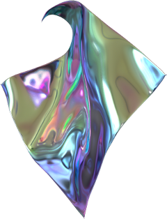 holographic shiny trippy psychedelic freetoedit