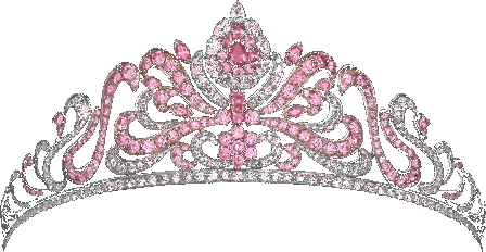 tiara crown pink diamonds fashion