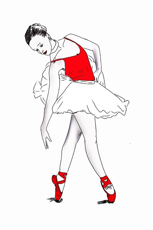 #mydrawing #mydraw #girl @pa #wdpballerina