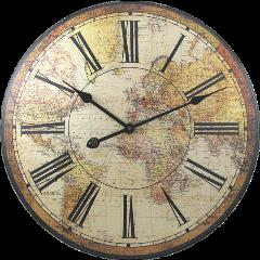 ftestickers retro vintage clock freetoedit