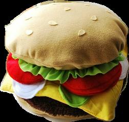 hamburger freetoedit ftecutepillows