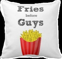fries guys pillow freetoedit