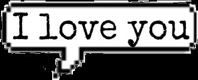 iloveyou balloon love freetoedit