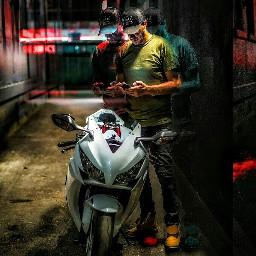 distorted motorbike editedbyme