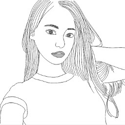outline outlinetumblr tumblr drawing