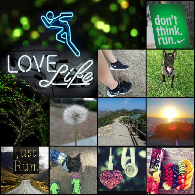#wapaestheticboard #healthyhabits #run #green