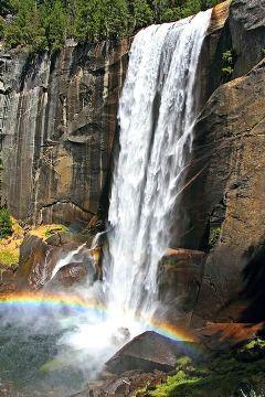 vernalfall yosemitenationalpark naturephotography myphoto freetoedit