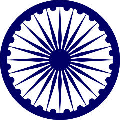 india indian ashoka wheel freetoedit