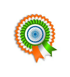 india indian flag ribbon freetoedit