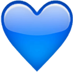 heart coração azul freetoedit cora