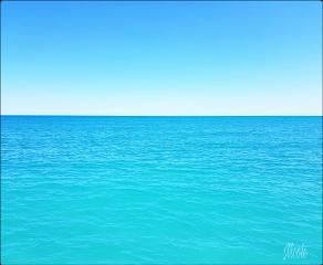ftestickers background nature ocean sea