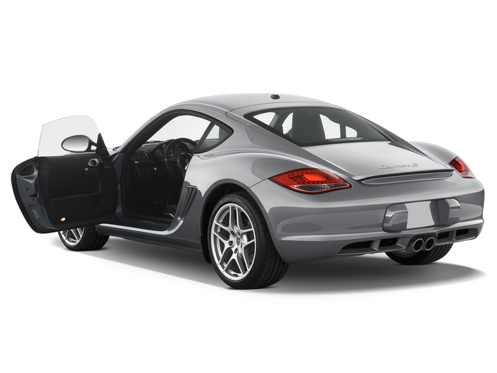 Porsche Cayman Silver Car Door Open Coupe Sportscar Fre