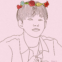 outline draw kpop kawaii seventeen