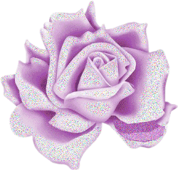 purple glitter rose flower freetoedit