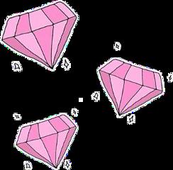 diamond pink stars sparkles sparkling