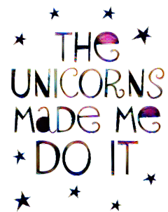 unicorns quotes sayings words sticker