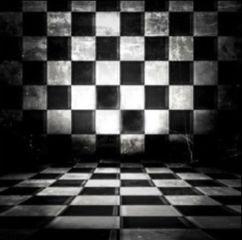 freetoedit background blackandwhite checkered threedimensional