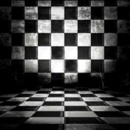 freetoedit background blackandwhite checkered threedimensional