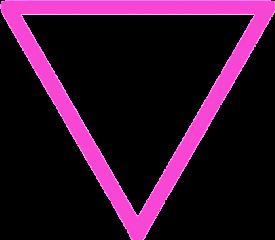 triangle triangulo triangular rosa pink