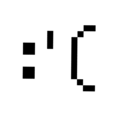 sad pixel 8bit freetoedit