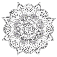 mandala icon pfp edit overlay freetoedit