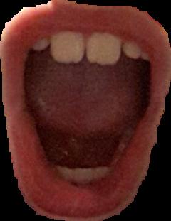 mouth open freetoedit