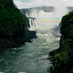 freetoedit cataratas iguazú misiones argentina